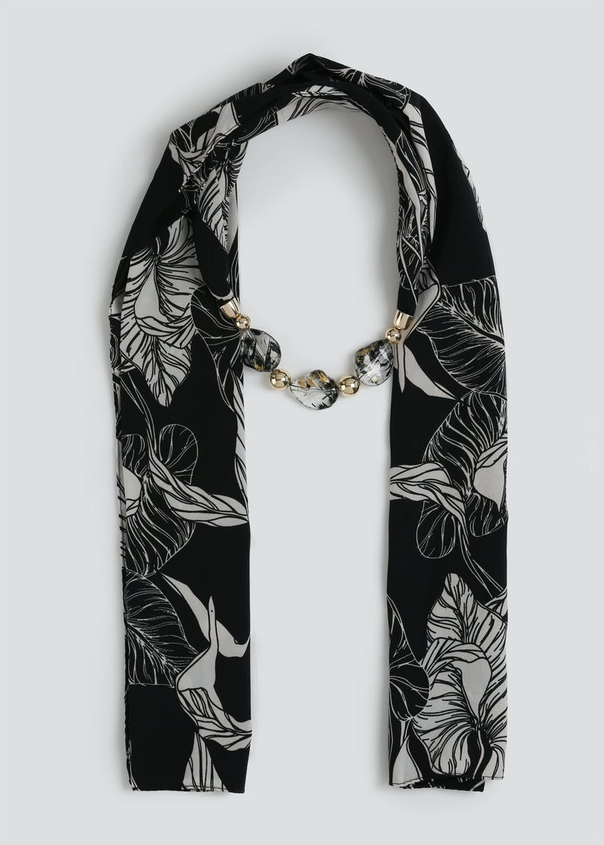 Floral Jewellery Scarf