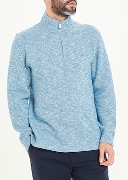 Lincoln Knitted Half Zip Fleece
