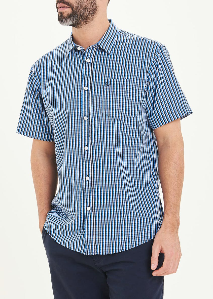 Lincoln Short Sleeve Soft Touch Check Shirt