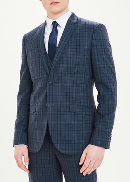 Taylor & Wright Berkley Check Slim Fit Suit Jacket