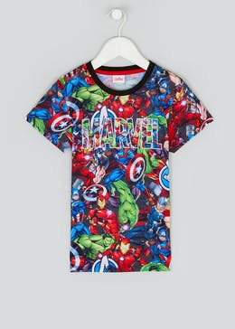 Kids Marvel Superhero T-Shirt (2-9yrs)