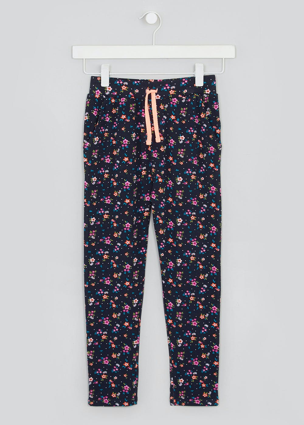 Girls Floral Trousers (4-13yrs) – Multi