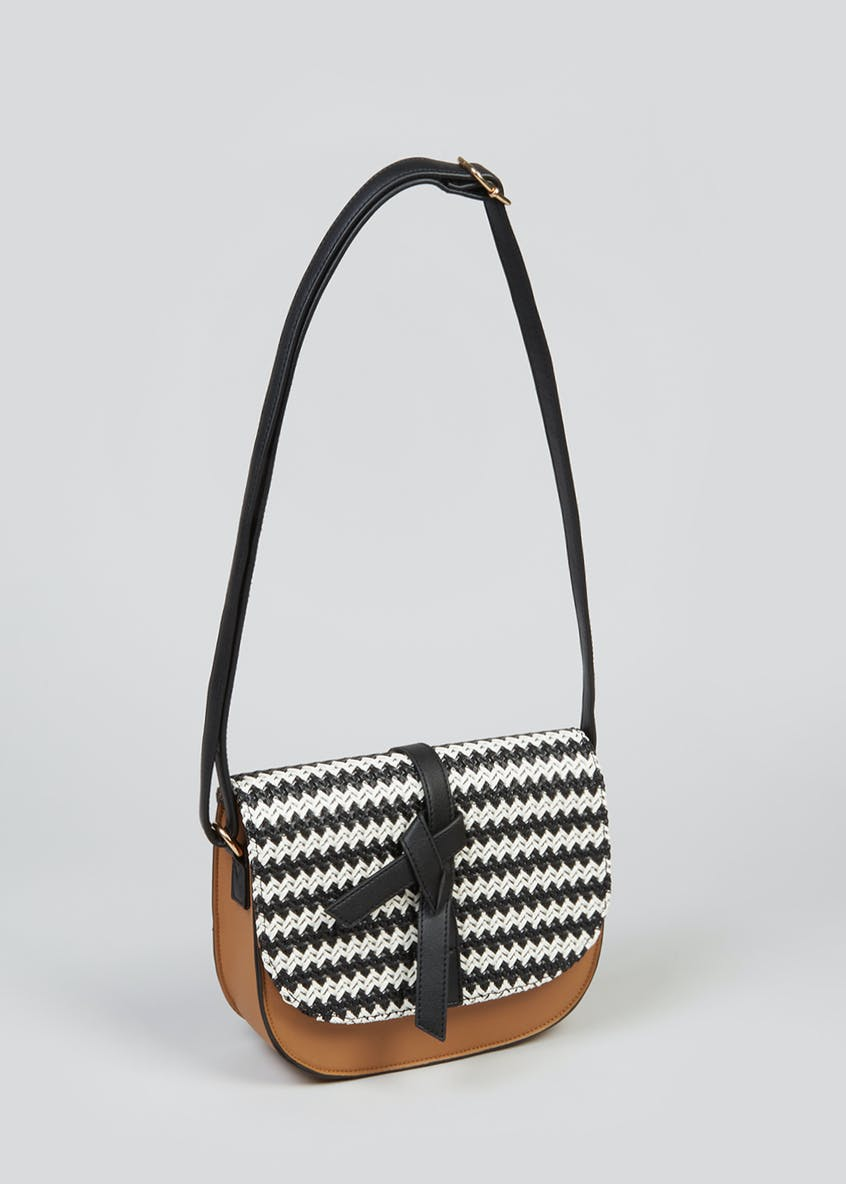 Woven Saddle Bag