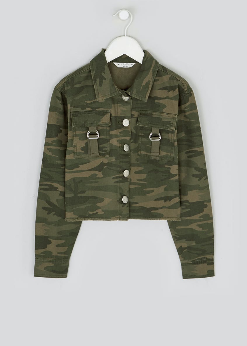 Girls Candy Couture Camo Shacket (9-16yrs)