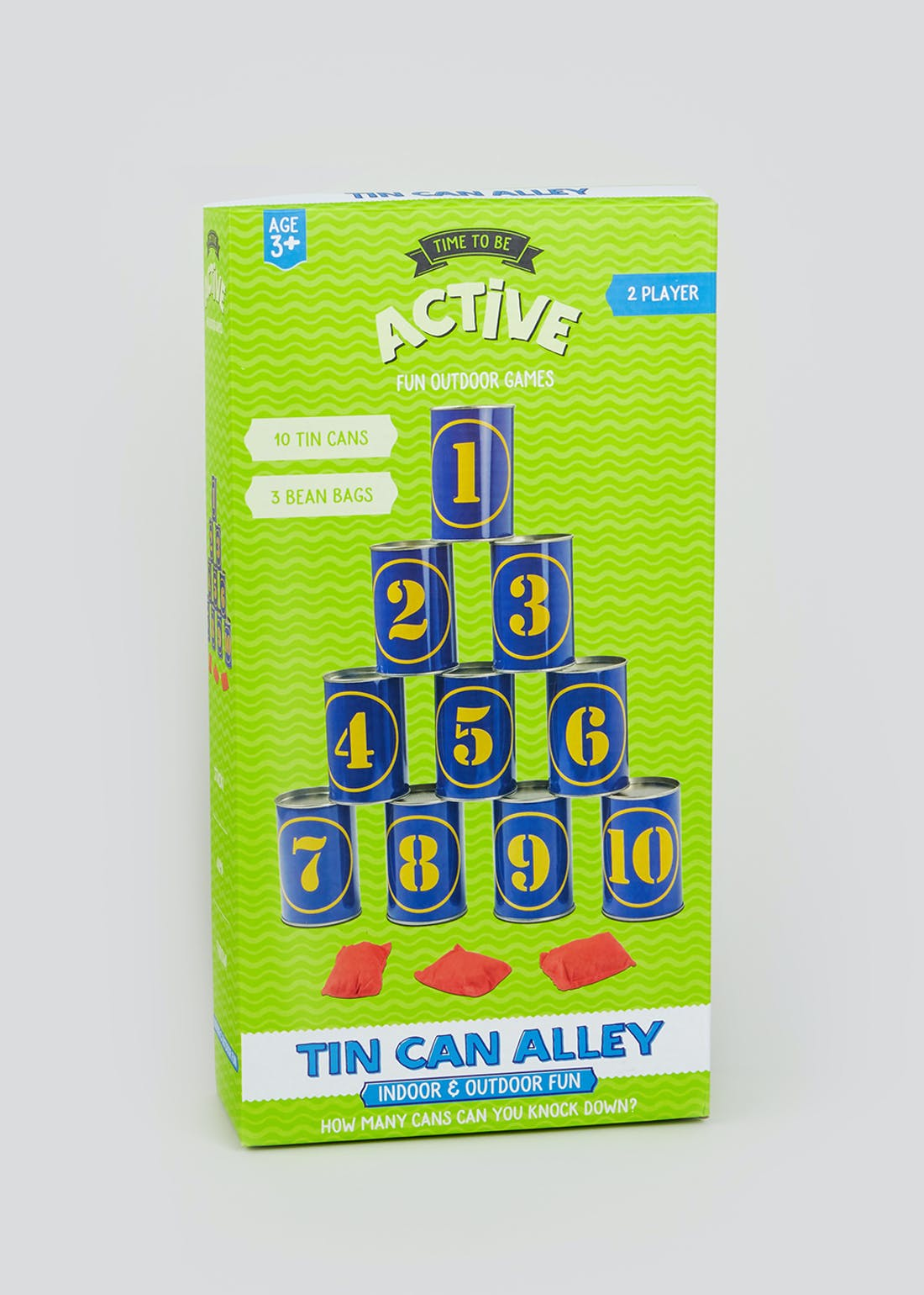 Tin Can Alley Game (39cm x 20cm x 7cm)