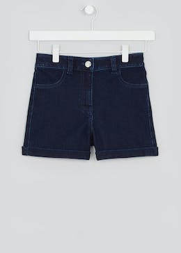 Girls Candy Couture Denim Shorts (9-16yrs)