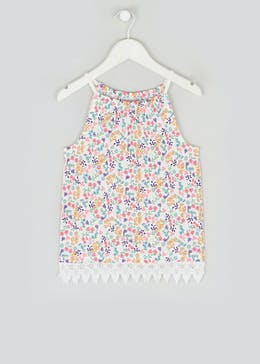Girls High Neck Cami Top (4-13yrs)