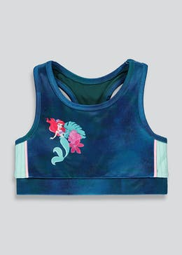 Girls Souluxe Princess Ariel Crop Top (2-11yrs)