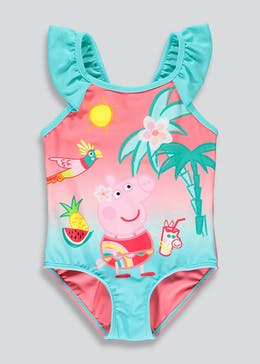 Girls Peppa Pig Swimming Costume (12mths-5yrs)
