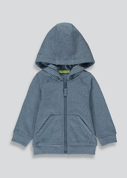 Boys Zip Up Soft Hoodie (9mths-6yrs)