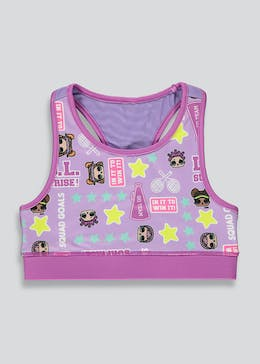 Girls Souluxe L.O.L. Surprise Sports Crop Top (4-11yrs)