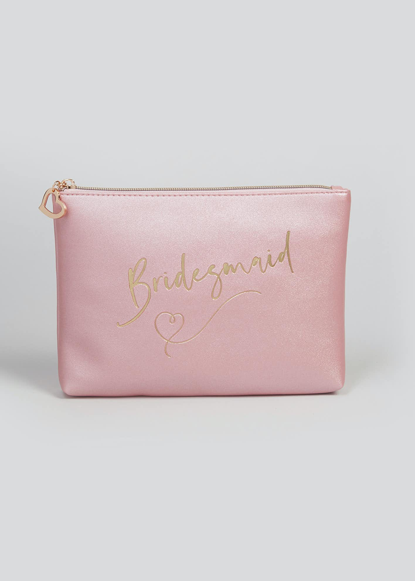 Bridesmaid Makeup Bag (23.5cm x 17cm x 3.5cm)