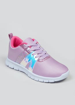 Girls Souluxe Purple Trainers