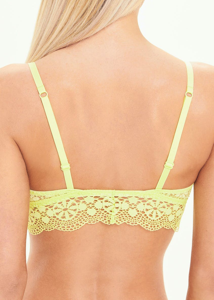 3 Pack Lace Bralettes