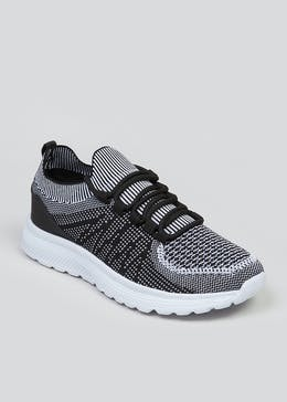 Souluxe Monochrome Trainers