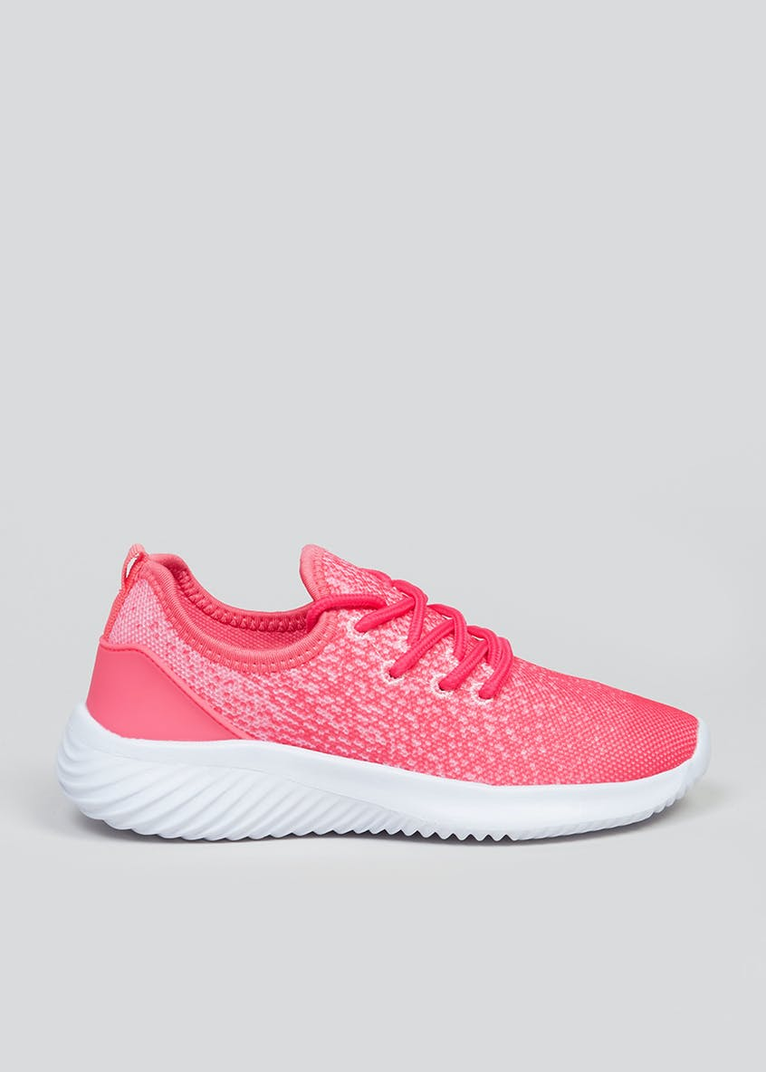 Girls Souluxe Pink Trainers