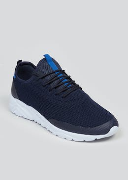 Souluxe Navy Trainers