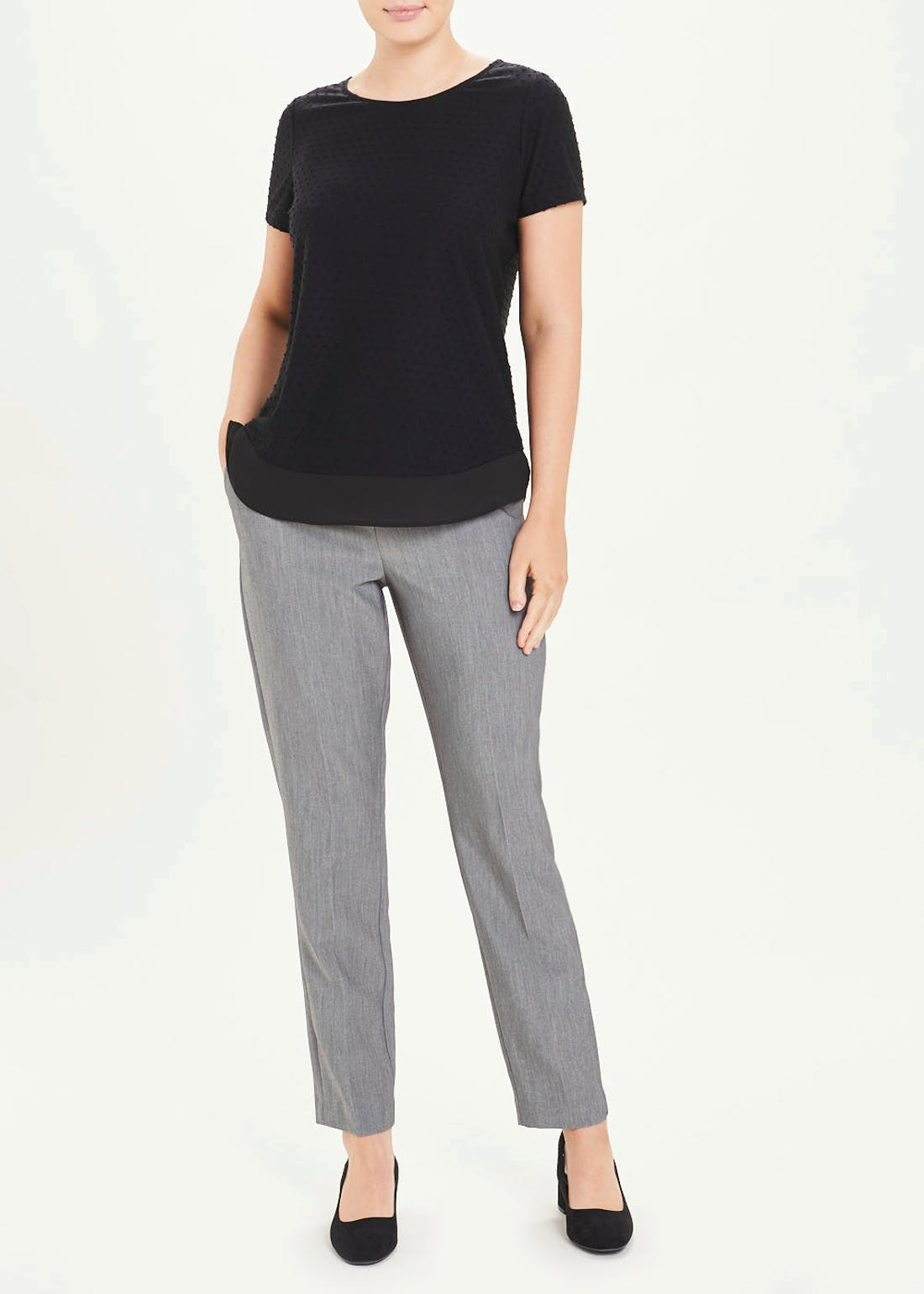 Tapered Suit Trousers (31 Inch Leg)