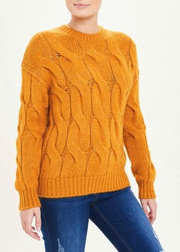 Slouch Cable Jumper