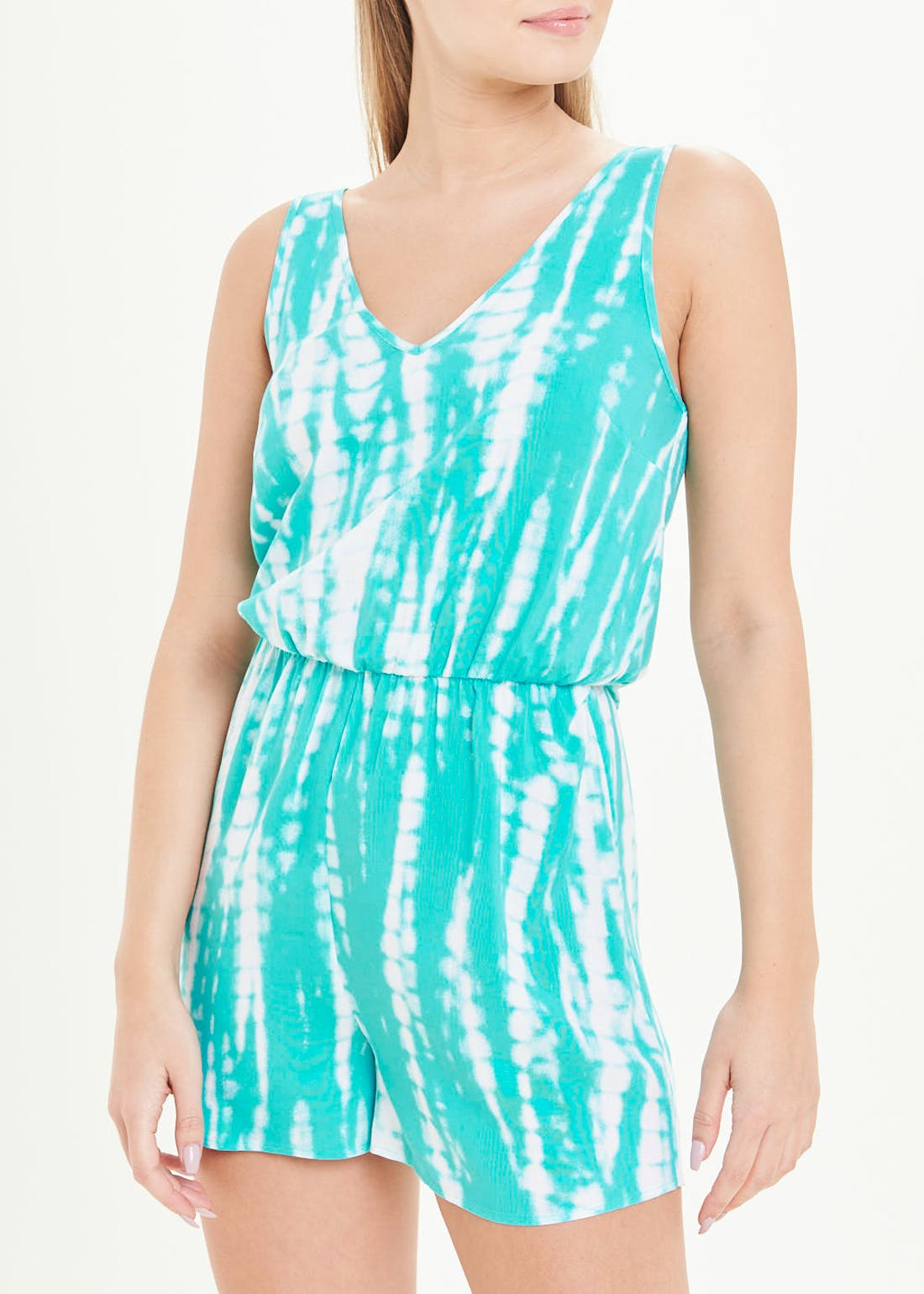 Sleeveless Tie Dye Playsuit