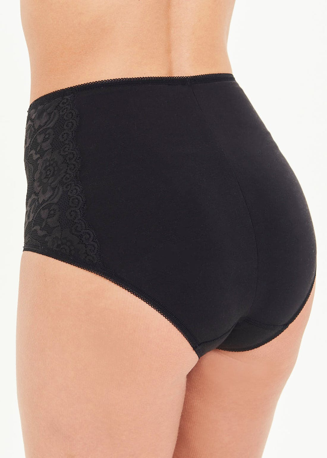 3 Pack Lace Detail Full Knickers