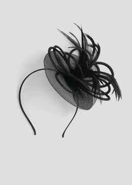 Multi Loop Feather Fascinator