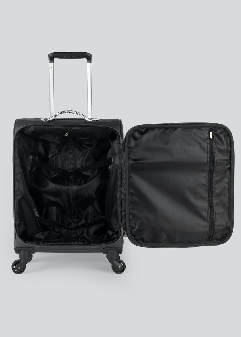 Constellation Snake Print Cabin Suitcase