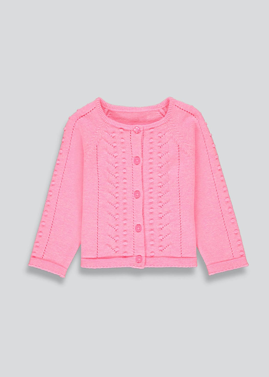 Girls Knitted Cardigan (9mths-6yrs)