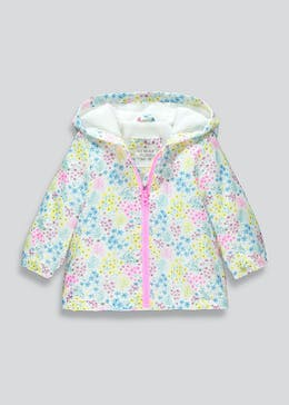 Girls Floral Hooded Jacket (9mths-6yrs)