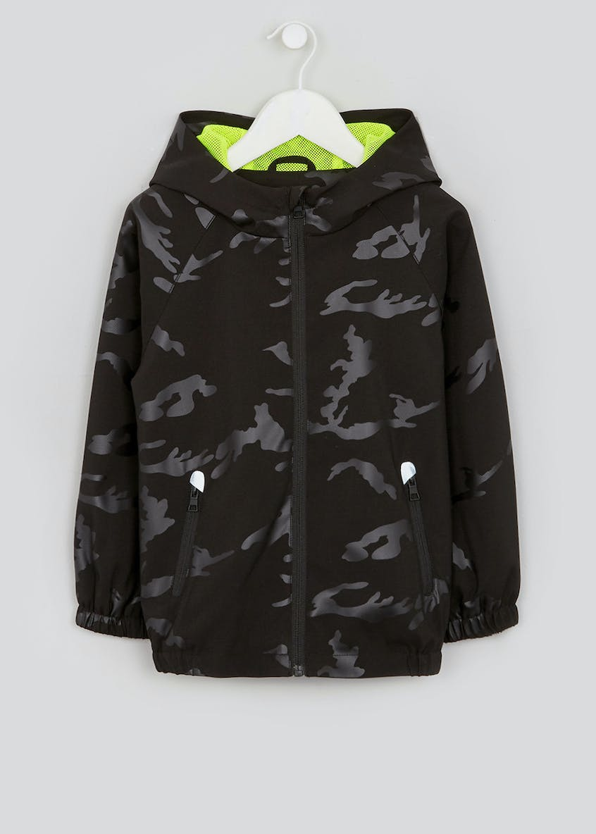 Boys Camo Lightweight Jacket (4-13yrs)