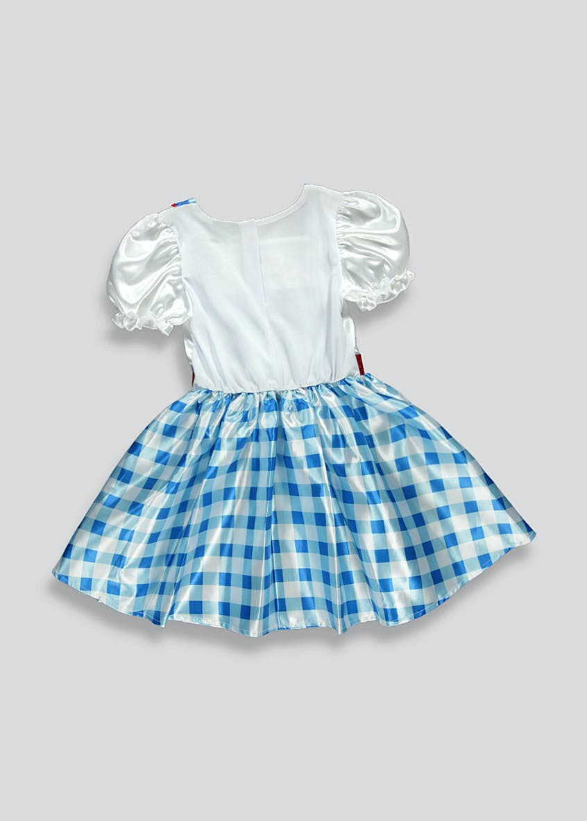 Kids Wizard Of Oz Dorothy Fancy Dress Costume (3-9yrs)
