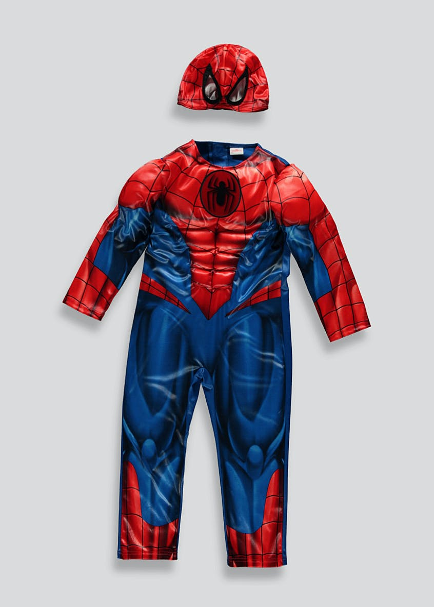 Kids Spider-Man Marvel Fancy Dress Costume (3-9yrs)