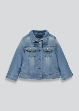 Girls Blue Denim Jacket (12mths-6yrs)