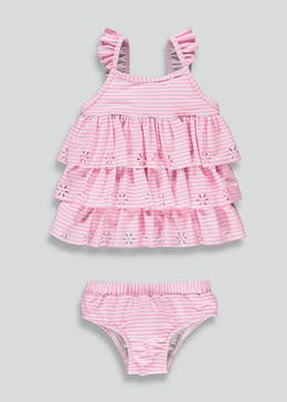 Girls Frill Tankini Set (3mths-6yrs)