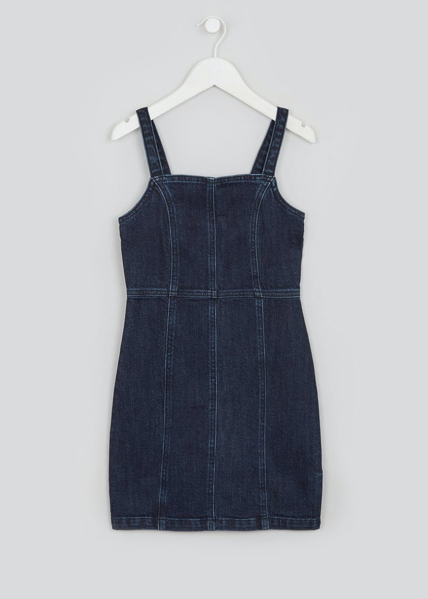 Girls Candy Couture Denim Strappy Dress (9-16yrs)