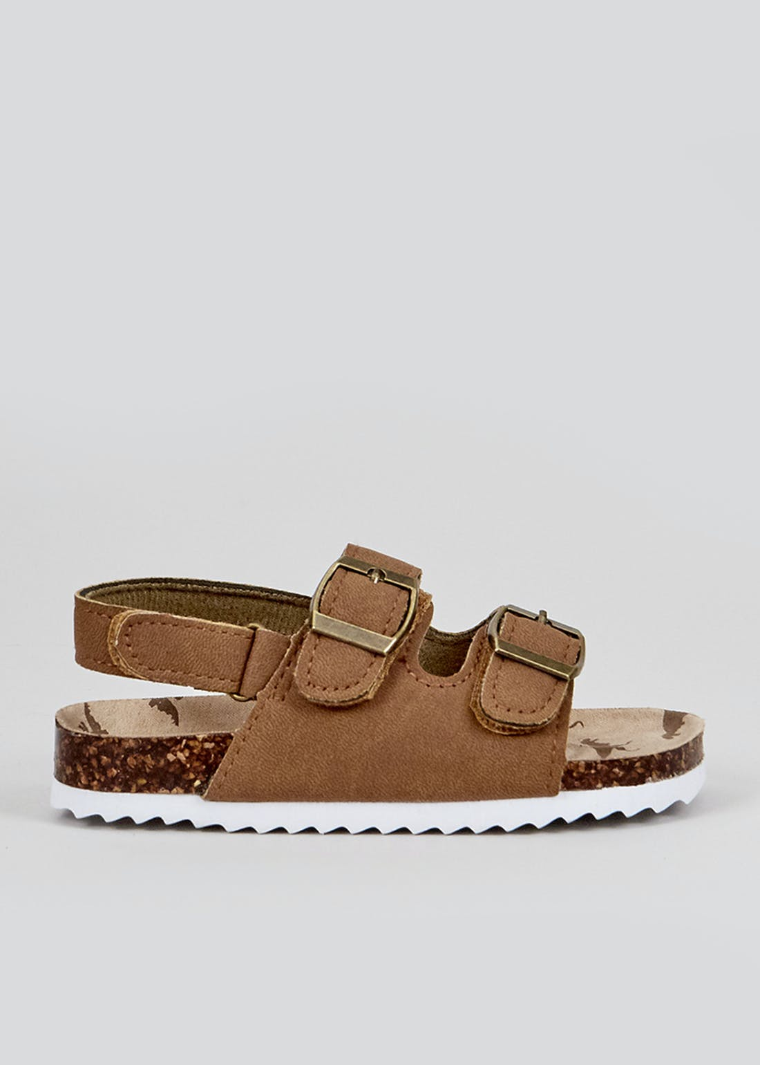 Boys Tan Footbed Sandals (Younger 4-12)