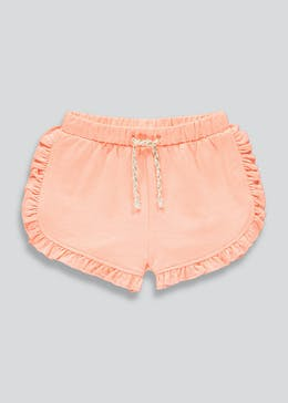 Girls Side Frill Shorts (9mths-6yrs)