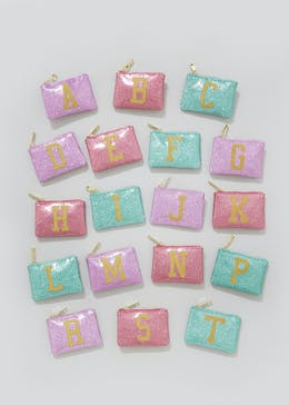 Metallic Alphabet Purse (11.5cm x 8cm)