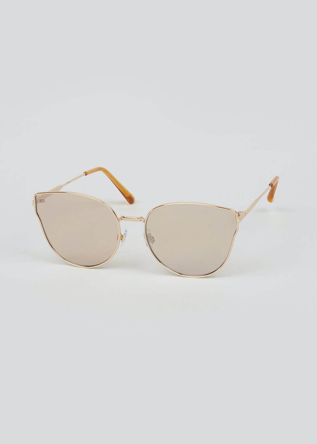 Foster Grant Cat Eye Wire Frame Sunglasses