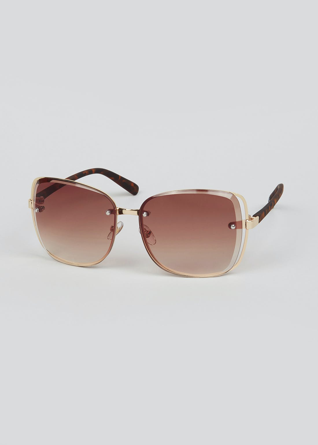 Foster Grant Tinted Oversized Sunglasses