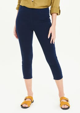 Rosie Cropped Pull On Jeggings