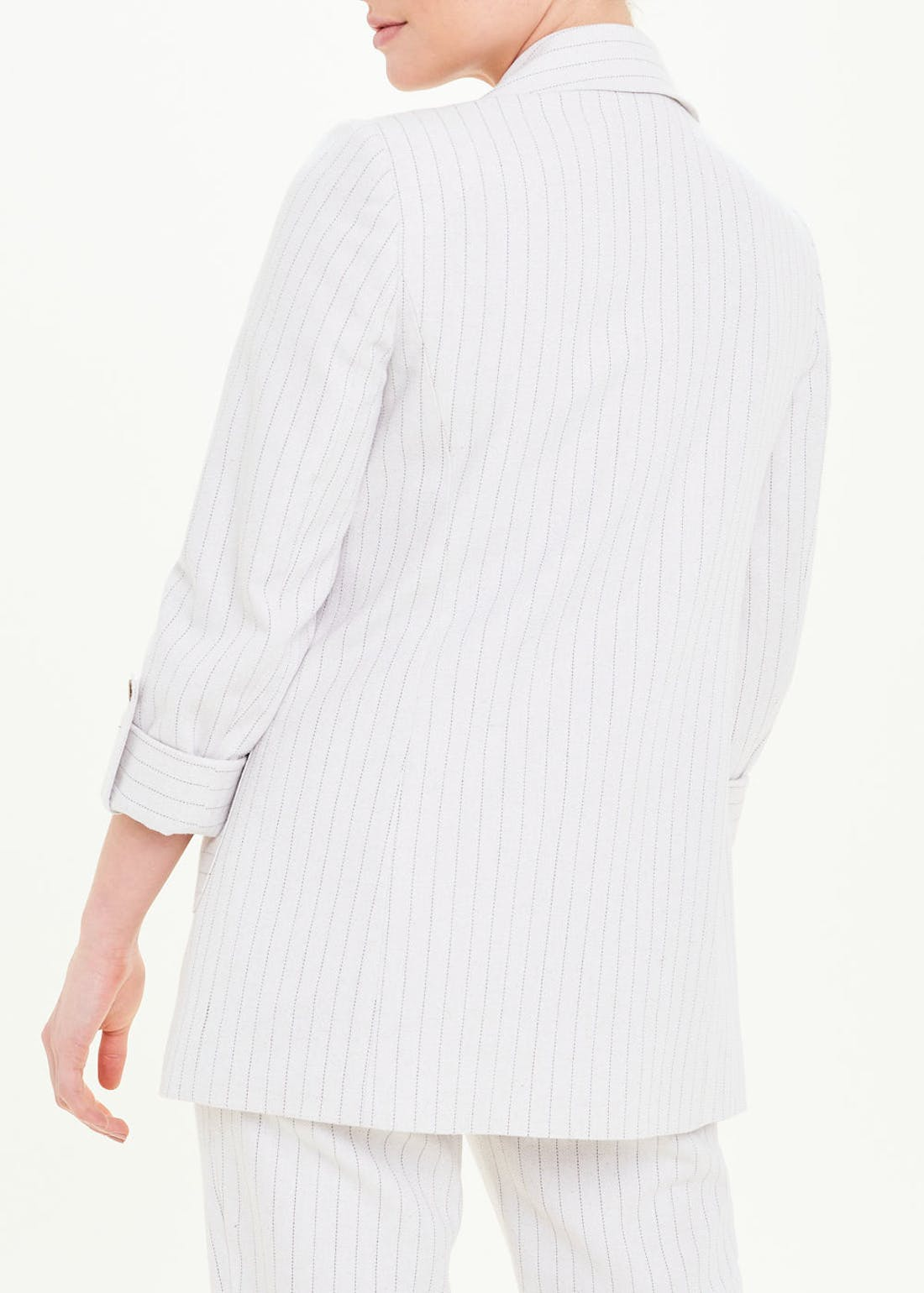 Stripe Linen Co-Ord Blazer