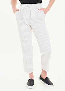 Stripe Linen Co-Ord Trousers