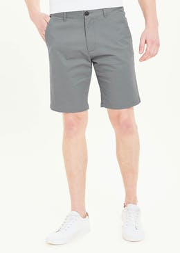 Straight Fit Stretch Chino Shorts