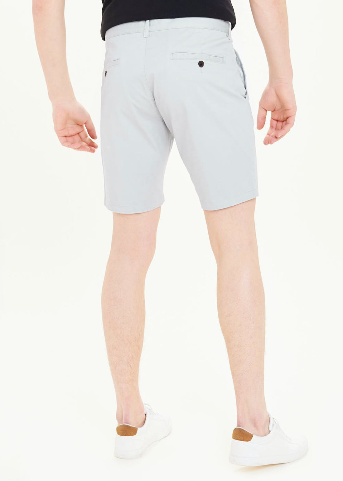 Slim Fit Stretch Chino Shorts