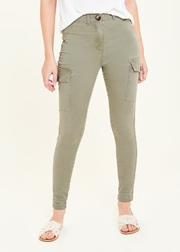 Skinny Utility Trousers