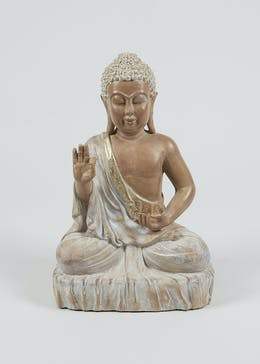 Resin Buddha Ornament (42cm x 26cm x 17cm)