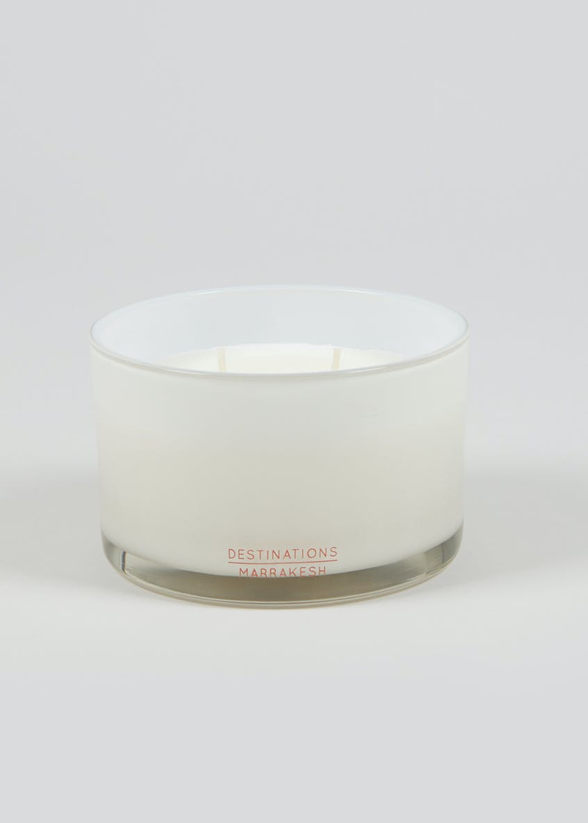 Marrakech Destinations 3 Wick Candle (13cm x 8cm)