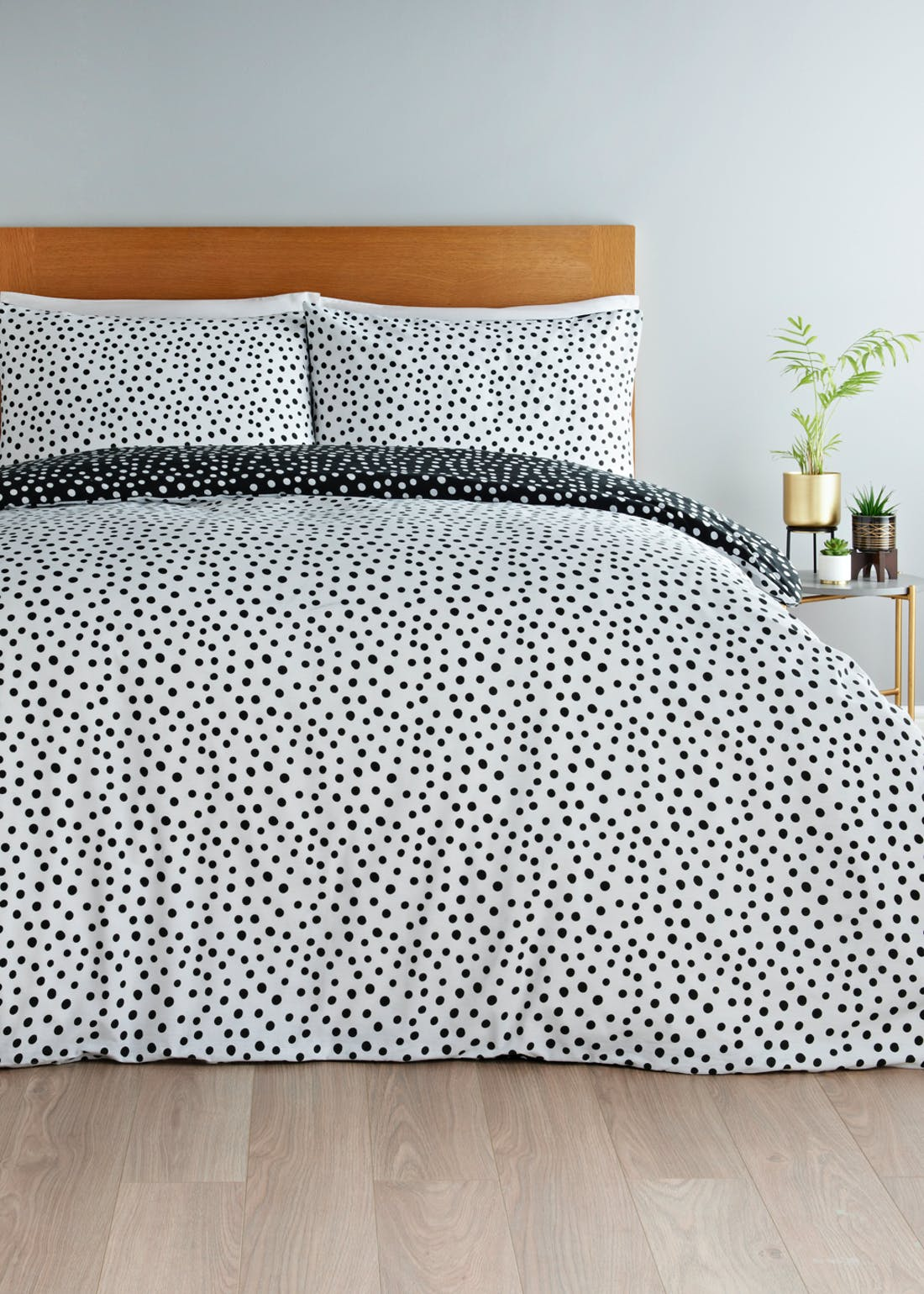Polka Dot Duvet Cover