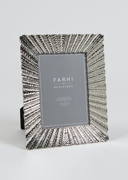 Farhi by Nicole Farhi Metallic Photo Frame (25.5cm x 20.5cm x 2cm)